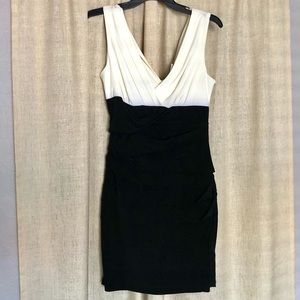 Sweet Storm Black and White Dress